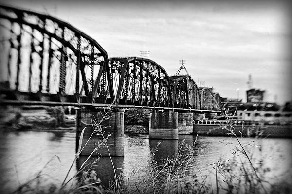 Railroad Bridge Print by Scott Pellegrin