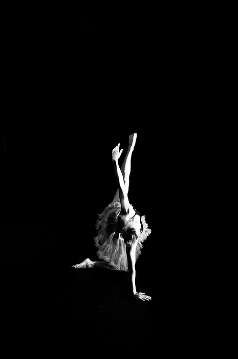 Reaching Ballerina Print by Scott Sawyer