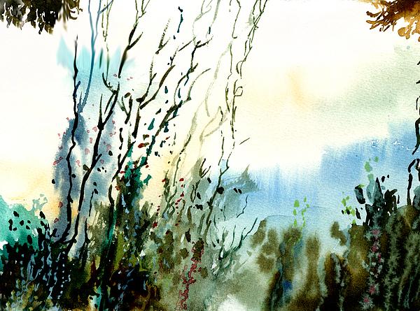 Reaching The Sky Print by Anil Nene