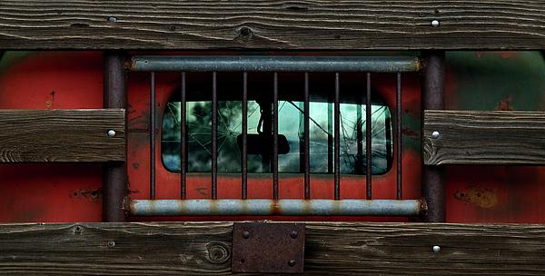 Rear Window Print by Murray Bloom