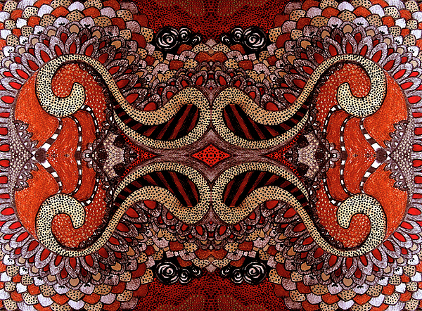 Red Print by Ariela