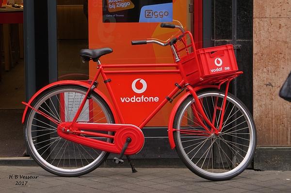 B Vesseur - Red Bicycle