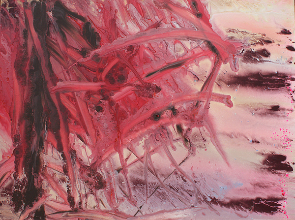 Red Tide Print by Ethel Vrana