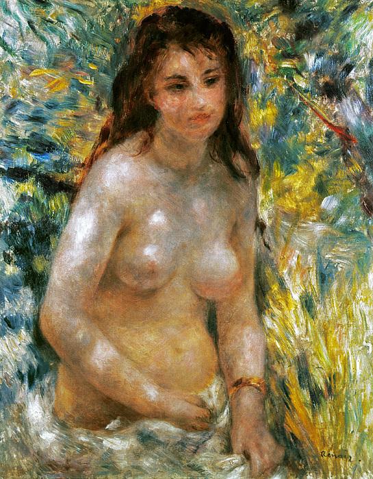 Renoir: Torso, C1876 Print by Granger