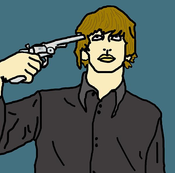 Ringo Starr Print by Jera Sky