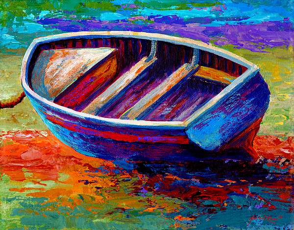 Riviera Boat IIi Print by Marion Rose