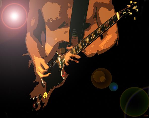 Rock Hero Print by David Lee Thompson