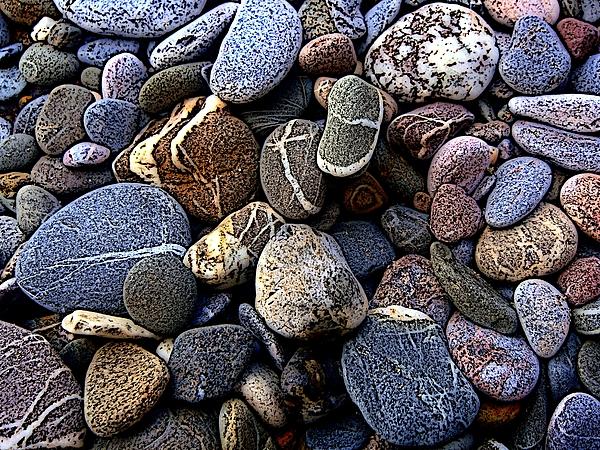 Rocks Print by Roberto Alamino