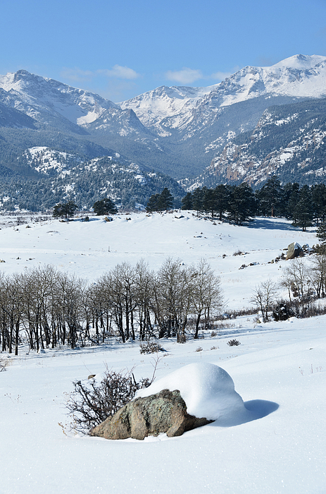 Rocky Mountain National Park Print by Julie Rideout