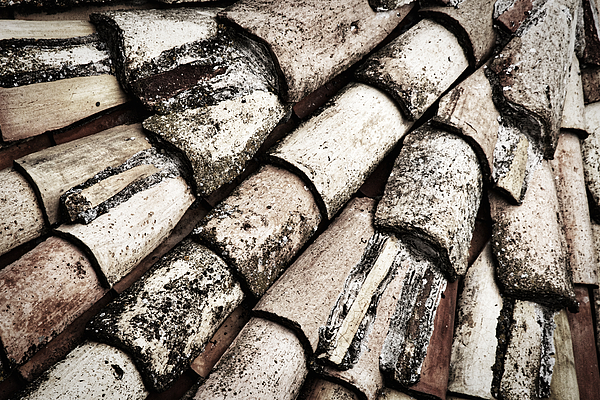 Stuart Litoff - Roof Tile Abstract
