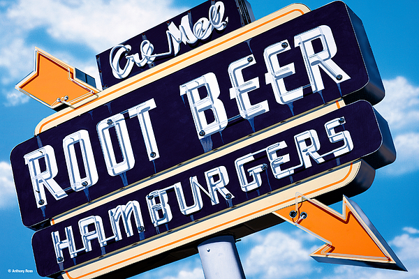 Root Beer Print by Anthony Ross