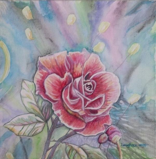 Rose Print by Laura Laughren