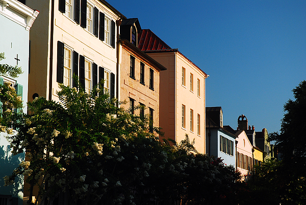 Row houses of charleston by james kirkikis for Charleston row houses