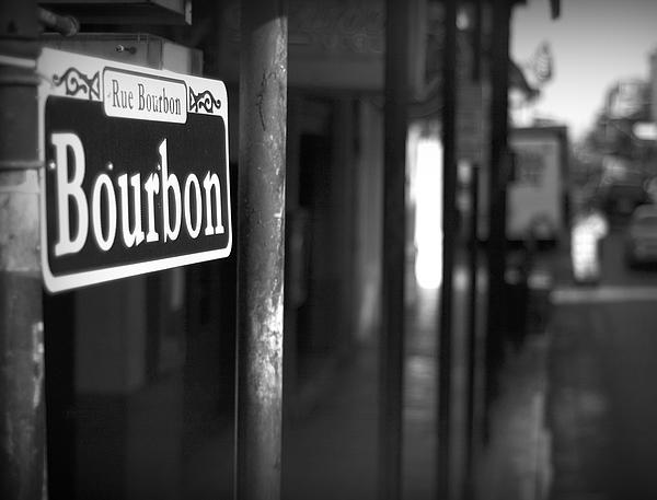 Rue Bourbon Print by John Gusky