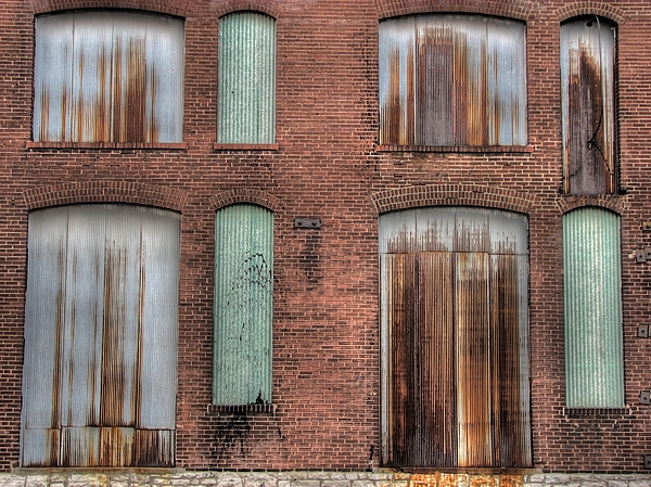 Rust Never Sleeps Print by Jane Linders