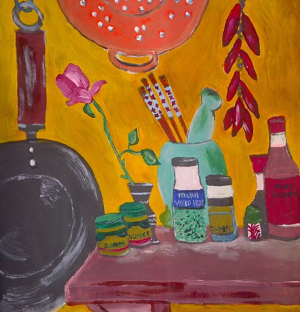 Julie Butterworth - Saffron And Chillies