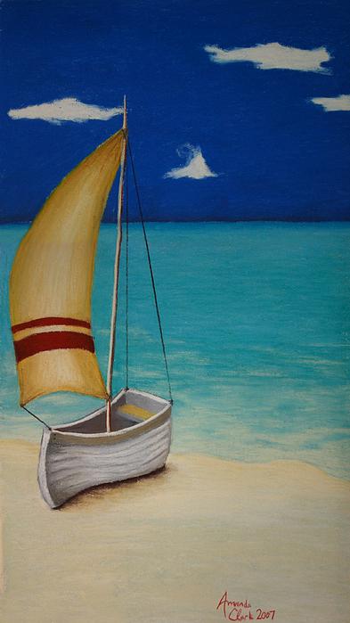 Sailors Solitude Print by Amanda Clark