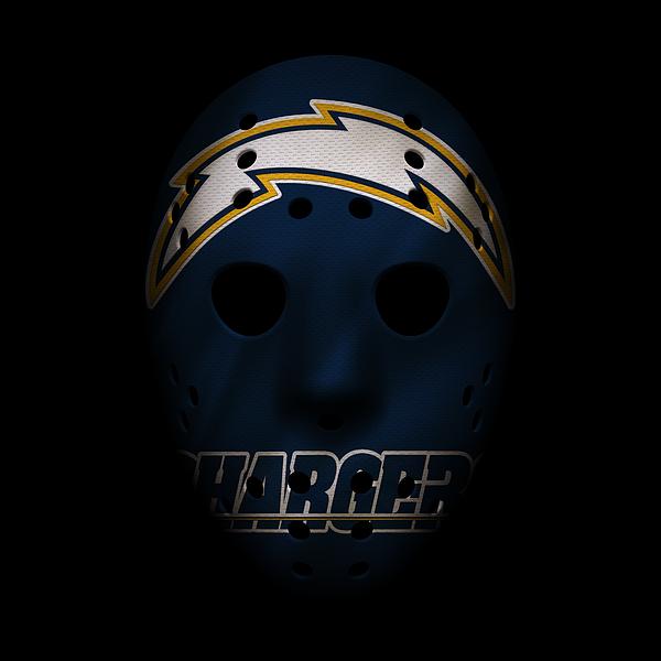 San Diego Chargers War Mask By Joe Hamilton