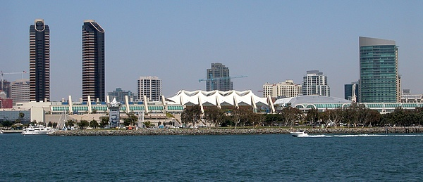 San Diego Skyline 4 Print by Joseph R Luciano