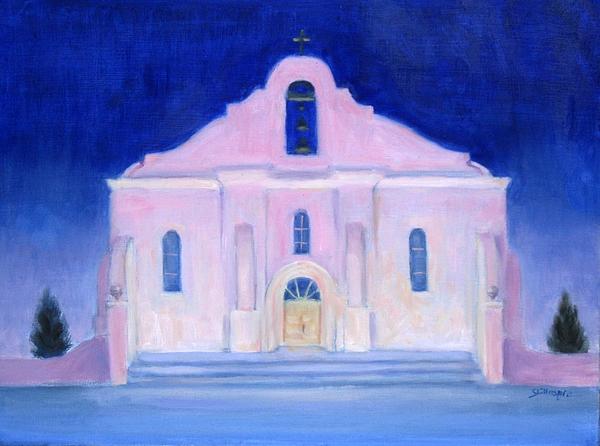 San Elizario El Paso Print by Michael Gillespie