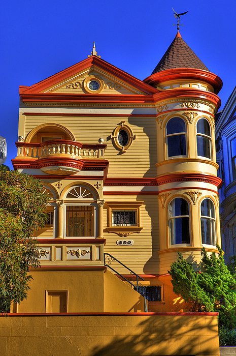 San francisco victorian by paul owen for San francisco victorian houses