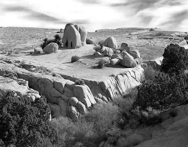 Sandstone Plateau Print by Christian Slanec