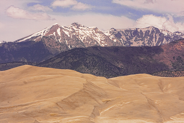 Sangre De Cristo Mountains And The Great Sand Dunes Print by James BO  Insogna