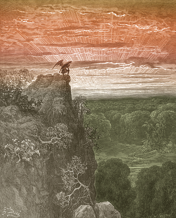 Satan, By Dore Print by Photo Researchers