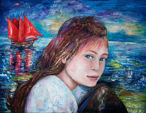 OLena Art - Scarlet Sails