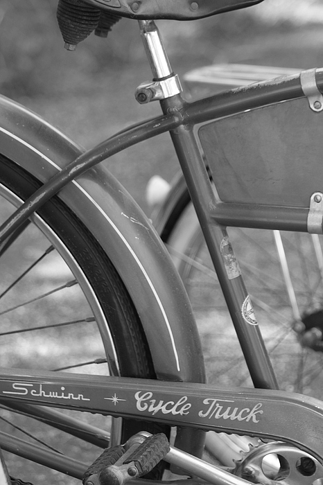 Schwinn Cycle Truck Print by Lauri Novak