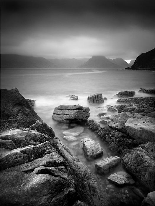 Scotland Elgol Print by Nina Papiorek