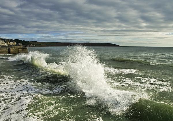 Sea Waves2 Print by Svetlana Sewell