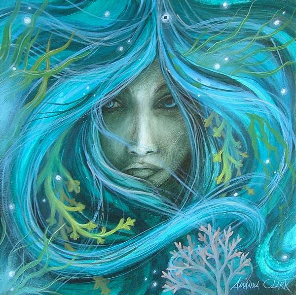 Sea Witch Print by Amanda Clark