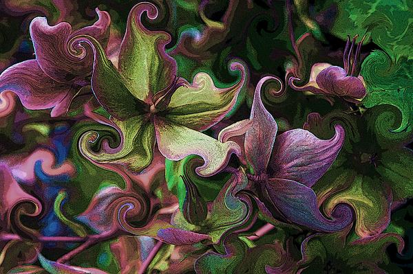 Secret Garden Print by Barbara  White