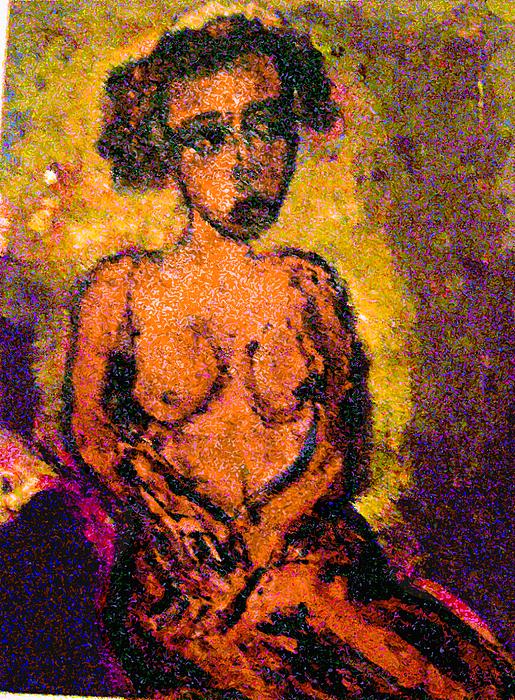 Seduction Print by Noredin Morgan