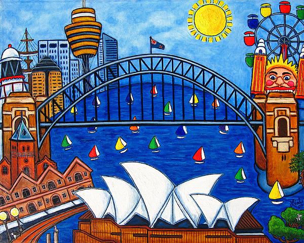 Sensational Sydney Print by Lisa  Lorenz