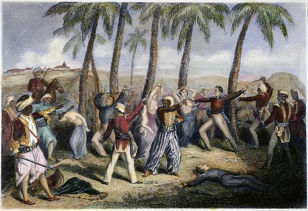 Sepoy Rebellion Print by Granger