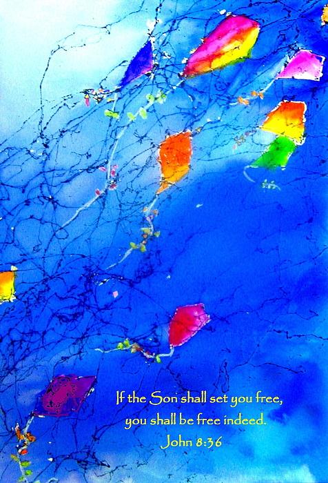 Set Free Print by Anne Duke