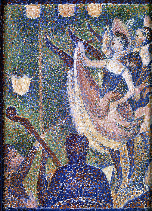 "Georges Seurat - ""Le Chahut"" (1890, óleo sobre... - El ..."