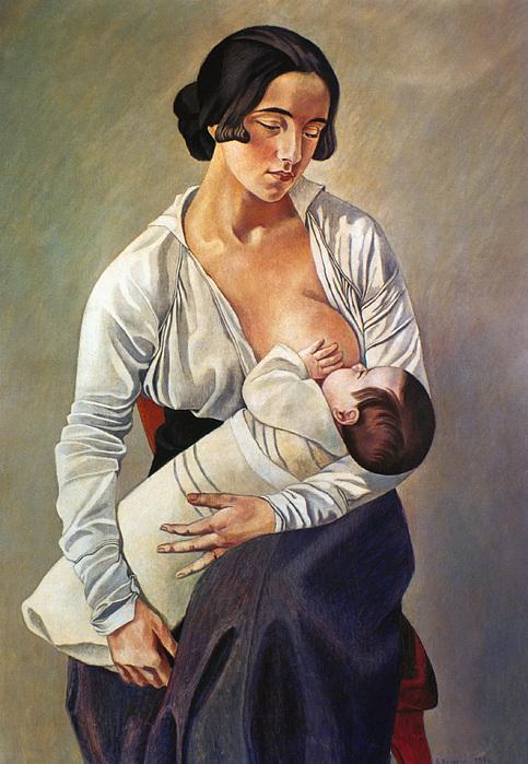 Severini: Maternity, 1916 Print by Granger