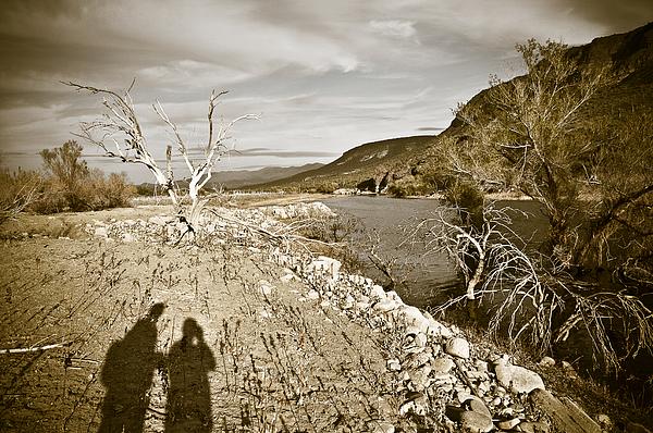 Shadows Lurking Print by Keith Sanders