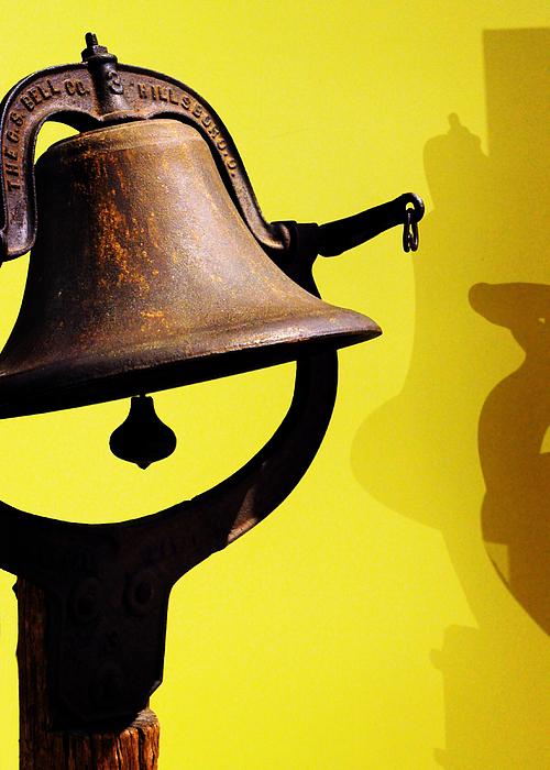 Ship's Bell Print by Rebecca Sherman