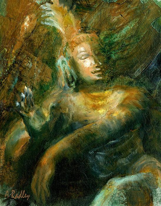 Shiva Lord Of The Dance Print by Ann Radley