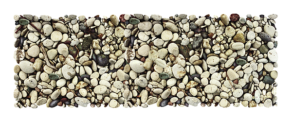 Shore Stones 3 Print by JQ Licensing