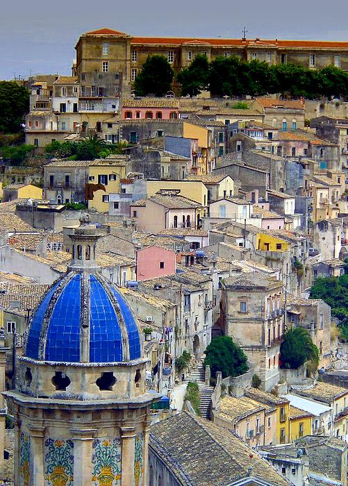 Sicily Print by Sorin Ghencea