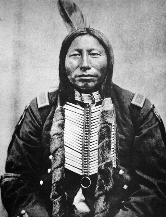 Sioux: Crow King Print by Granger