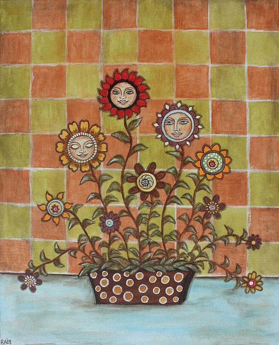 Sisters Print by Rain Ririn