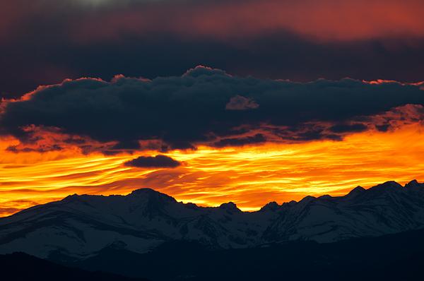 Sky Lava Print by Colleen Coccia