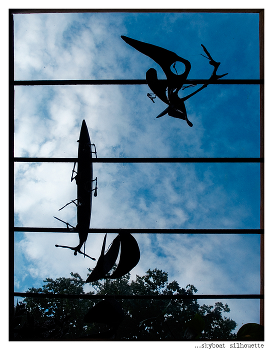 Skyboat Silhouette Print by Jay Taylor