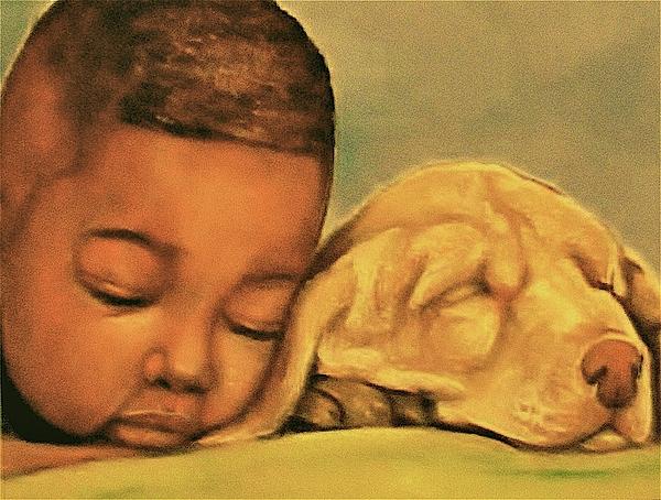 Sleeping Beauties Print by Curtis James